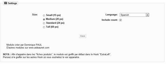 Configuración Google +1 en Prestashop