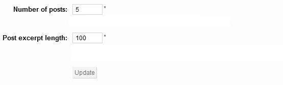 Configurando limite de post de wordpress a mostrar en el módulo para Prestashop