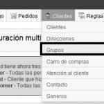 Restricciones de módulos en grupos de clientes en Prestashop 1.5