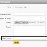Guía – Añadir nuevos campos al formulario de contacto en Prestashop 1.5