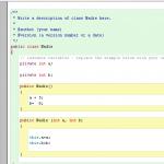 Crear método básico de modificación de datos en BlueJ