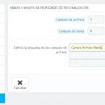 ¿Cómo puede subir el cliente ficheros al producto en Prestashop 1.7?