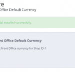 Definir distinta moneda en el panel y en la tienda en Prestashop