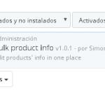 Actualizar productos y atributos en listados en Prestashop