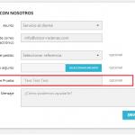 DOC – Añadir campos al formulario de contacto en Prestashop 1.7