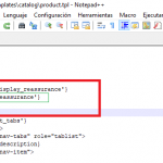 Hooks de la ficha del producto en Prestashop 1.7