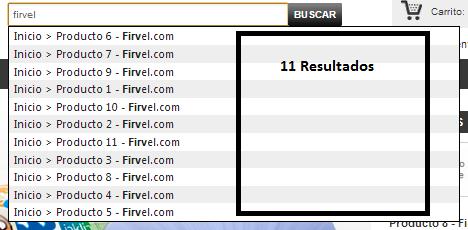 Buscador mostrando 11 resultados