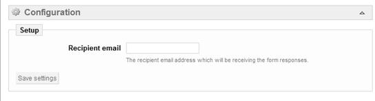 Email donde vas a recibir los datos que te vaya a enviar el usuario al solicitar información del producto en Prestashop