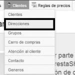 Guía – Añadir direcciones a un cliente desde el panel de administración en Prestashop 1.5