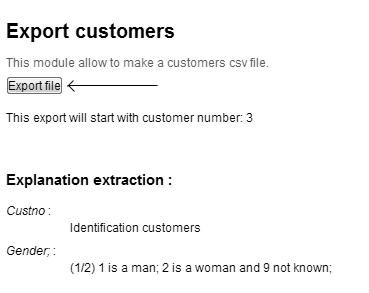 exportCustomer