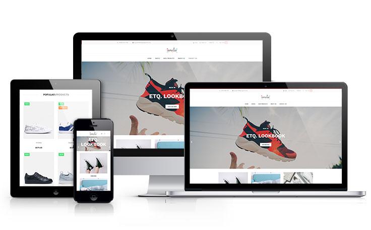 Plantilla para tu tienda de Zapatos en Prestashop 1.7