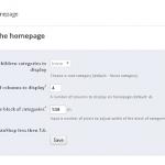 Ver categorías en la página principal en Prestashop