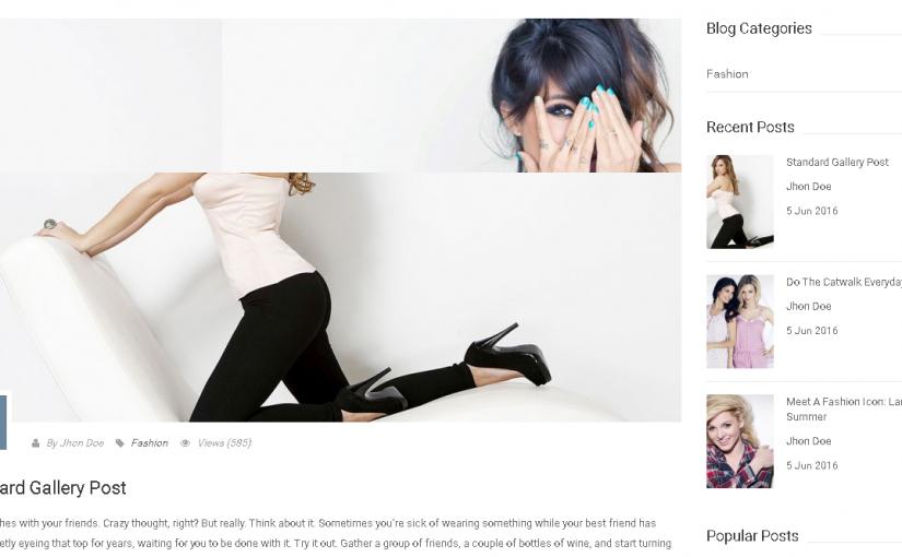 Blog en Prestashop 1.7