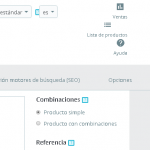 Productos relacionados por categoría en Prestashop 1.7