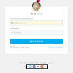 Eliminar redes sociales en la pantalla de acceso del panel en Prestashop 1.7
