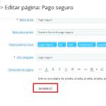 Mostrar productos en páginas de contenido (CMS) en Prestashop