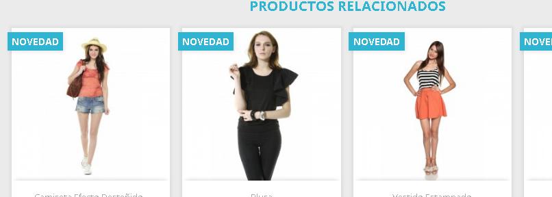 Mostrar lista personalizada de productos en la ficha del producto en Prestashop