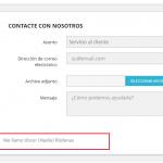 Reglamento general de protección de datos en el formulario de contacto de Prestashop 1.7