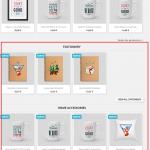 Categorías con productos en la página principal en Prestashop 1.7