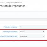 Cambiar orden de los productos en el buscador en Prestashop