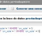 Mostrar la etiqueta de oferta en todos los productos en Prestashop