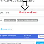 Mostrar email del cliente de forma más visual en la ficha del pedido en Prestashop